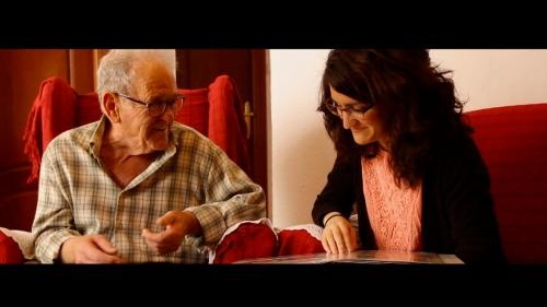 Fotograma Leonardo y Laura Carneros